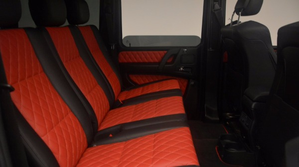 Used 2016 Mercedes Benz G-Class G 63 AMG for sale Sold at Bugatti of Greenwich in Greenwich CT 06830 20