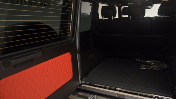 Used 2016 Mercedes Benz G-Class G 63 AMG for sale Sold at Bugatti of Greenwich in Greenwich CT 06830 21