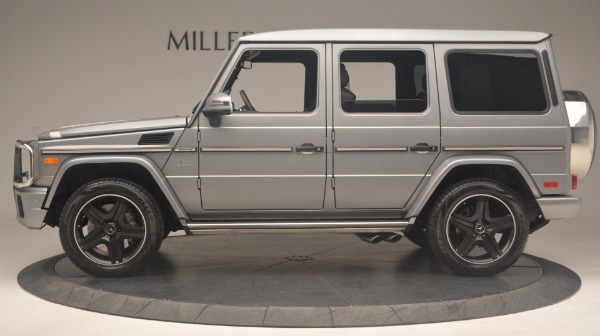 Used 2016 Mercedes Benz G-Class G 63 AMG for sale Sold at Bugatti of Greenwich in Greenwich CT 06830 3