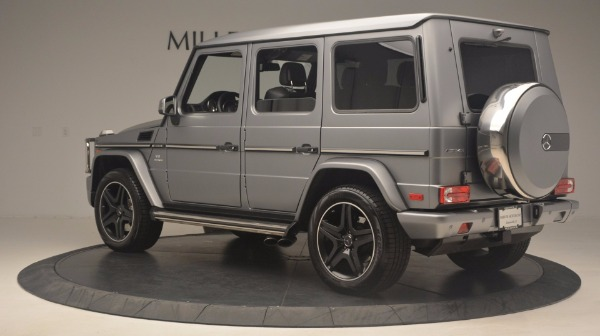 Used 2016 Mercedes Benz G-Class G 63 AMG for sale Sold at Bugatti of Greenwich in Greenwich CT 06830 4