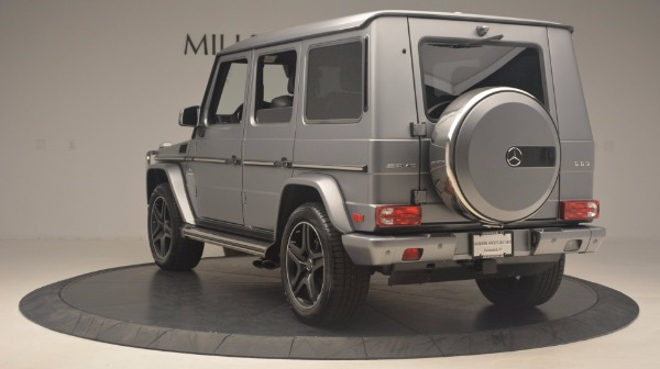 Used 2016 Mercedes Benz G-Class G 63 AMG for sale Sold at Bugatti of Greenwich in Greenwich CT 06830 5