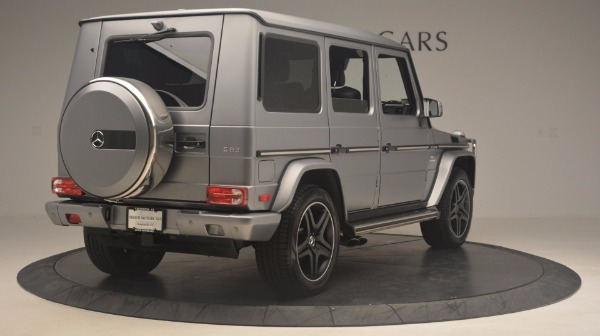 Used 2016 Mercedes Benz G-Class G 63 AMG for sale Sold at Bugatti of Greenwich in Greenwich CT 06830 7