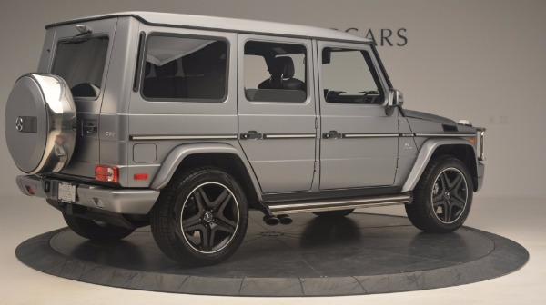 Used 2016 Mercedes Benz G-Class G 63 AMG for sale Sold at Bugatti of Greenwich in Greenwich CT 06830 8