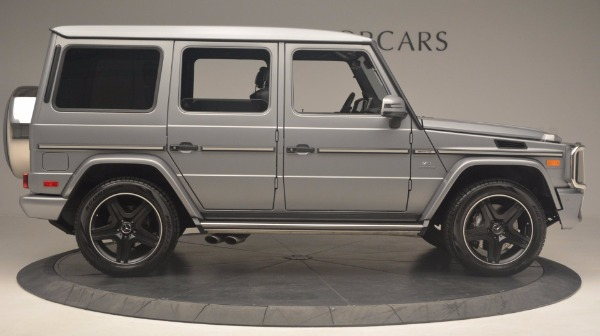Used 2016 Mercedes Benz G-Class G 63 AMG for sale Sold at Bugatti of Greenwich in Greenwich CT 06830 9