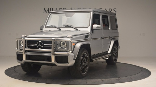 Used 2016 Mercedes Benz G-Class G 63 AMG for sale Sold at Bugatti of Greenwich in Greenwich CT 06830 1