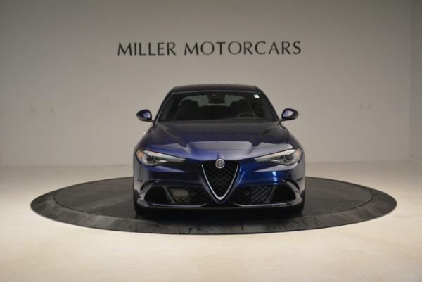 Used 2017 Alfa Romeo Giulia Quadrifoglio for sale Sold at Bugatti of Greenwich in Greenwich CT 06830 12
