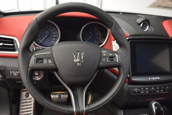 New 2017 Maserati Ghibli SQ4 for sale Sold at Bugatti of Greenwich in Greenwich CT 06830 22