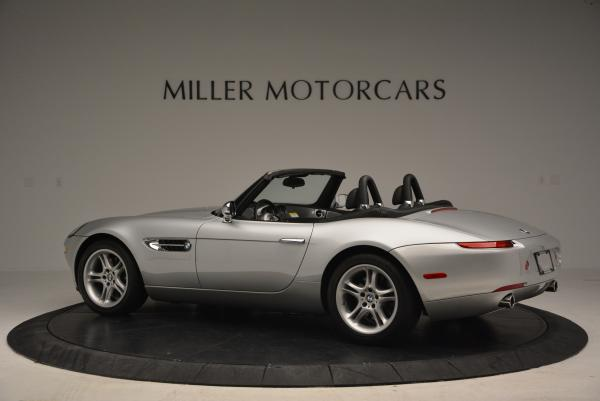 Used 2000 BMW Z8 for sale Sold at Bugatti of Greenwich in Greenwich CT 06830 4