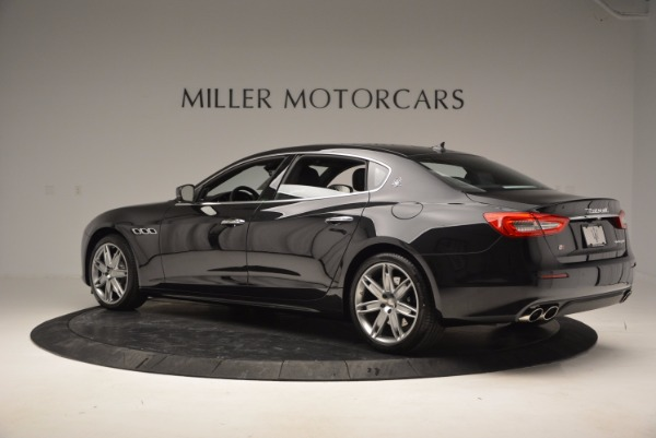 New 2017 Maserati Quattroporte S Q4 for sale Sold at Bugatti of Greenwich in Greenwich CT 06830 4