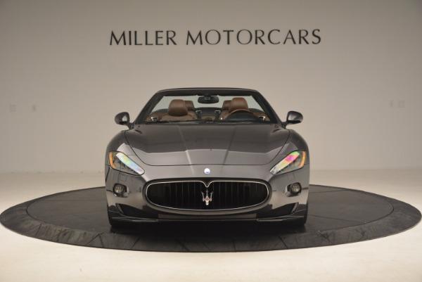 Used 2012 Maserati GranTurismo Sport for sale Sold at Bugatti of Greenwich in Greenwich CT 06830 12