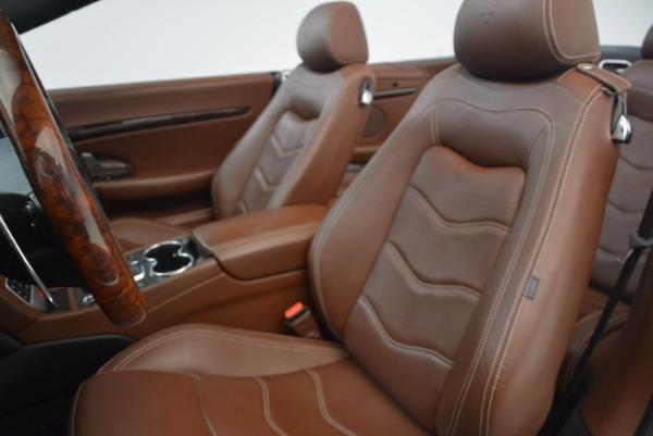 Used 2012 Maserati GranTurismo Sport for sale Sold at Bugatti of Greenwich in Greenwich CT 06830 23
