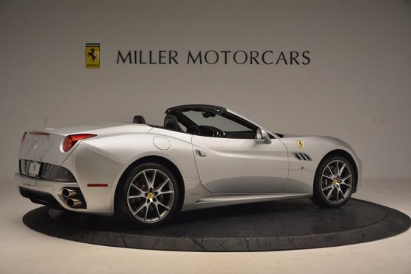 Used 2012 Ferrari California for sale Sold at Bugatti of Greenwich in Greenwich CT 06830 8