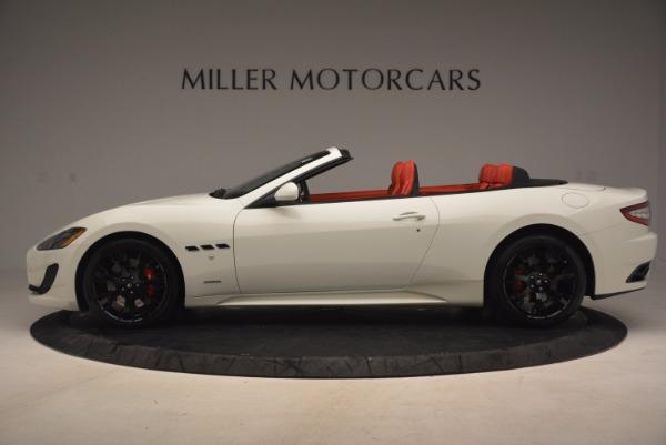 Used 2016 Maserati GranTurismo Sport for sale Sold at Bugatti of Greenwich in Greenwich CT 06830 3