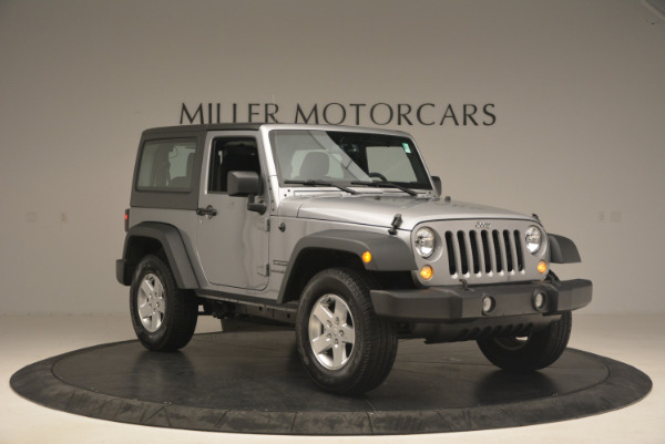 Used 2015 Jeep Wrangler Sport for sale Sold at Bugatti of Greenwich in Greenwich CT 06830 11
