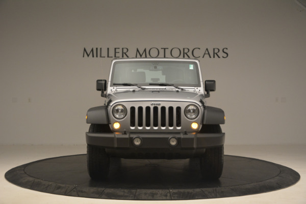Used 2015 Jeep Wrangler Sport for sale Sold at Bugatti of Greenwich in Greenwich CT 06830 12