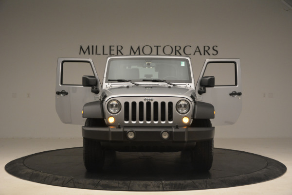 Used 2015 Jeep Wrangler Sport for sale Sold at Bugatti of Greenwich in Greenwich CT 06830 13