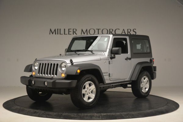 Used 2015 Jeep Wrangler Sport for sale Sold at Bugatti of Greenwich in Greenwich CT 06830 2