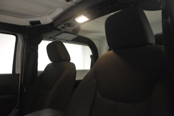 Used 2015 Jeep Wrangler Sport for sale Sold at Bugatti of Greenwich in Greenwich CT 06830 20