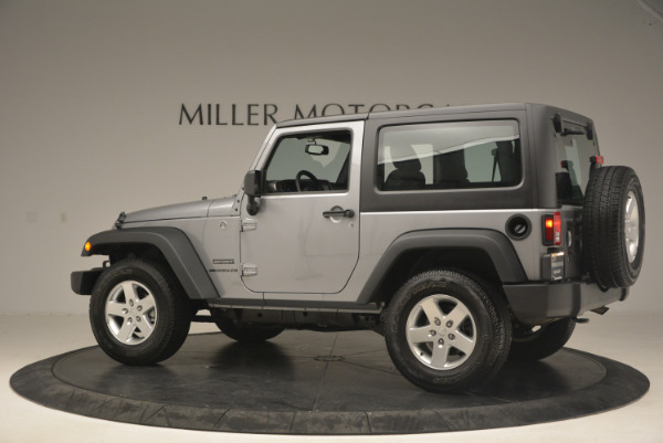 Used 2015 Jeep Wrangler Sport for sale Sold at Bugatti of Greenwich in Greenwich CT 06830 4
