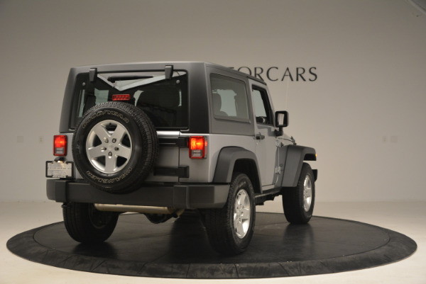 Used 2015 Jeep Wrangler Sport for sale Sold at Bugatti of Greenwich in Greenwich CT 06830 7