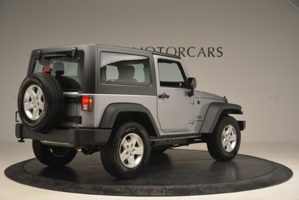 Used 2015 Jeep Wrangler Sport for sale Sold at Bugatti of Greenwich in Greenwich CT 06830 8