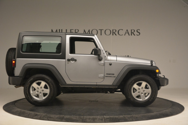 Used 2015 Jeep Wrangler Sport for sale Sold at Bugatti of Greenwich in Greenwich CT 06830 9