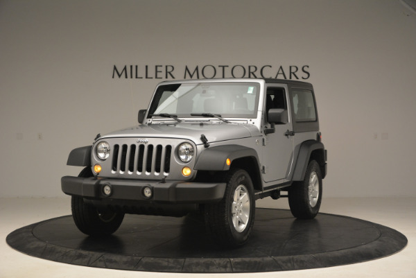 Used 2015 Jeep Wrangler Sport for sale Sold at Bugatti of Greenwich in Greenwich CT 06830 1