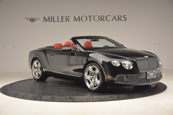 Used 2012 Bentley Continental GT W12 Convertible for sale Sold at Bugatti of Greenwich in Greenwich CT 06830 10