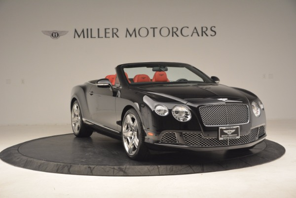 Used 2012 Bentley Continental GT W12 Convertible for sale Sold at Bugatti of Greenwich in Greenwich CT 06830 11