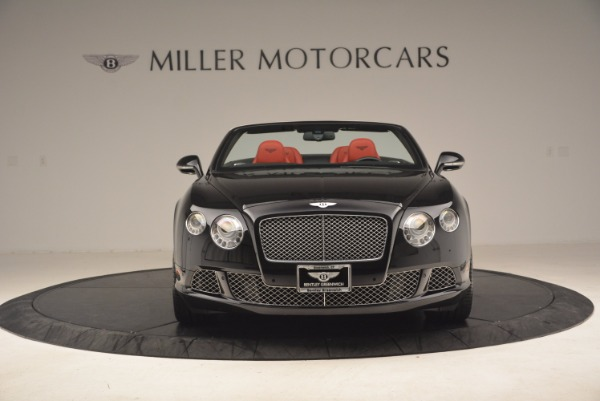 Used 2012 Bentley Continental GT W12 Convertible for sale Sold at Bugatti of Greenwich in Greenwich CT 06830 12