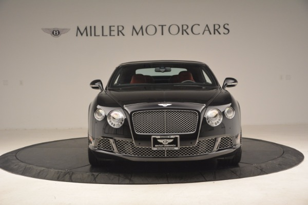 Used 2012 Bentley Continental GT W12 Convertible for sale Sold at Bugatti of Greenwich in Greenwich CT 06830 13