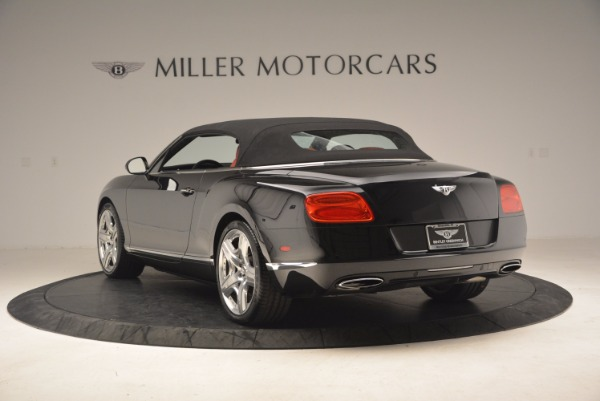 Used 2012 Bentley Continental GT W12 Convertible for sale Sold at Bugatti of Greenwich in Greenwich CT 06830 18