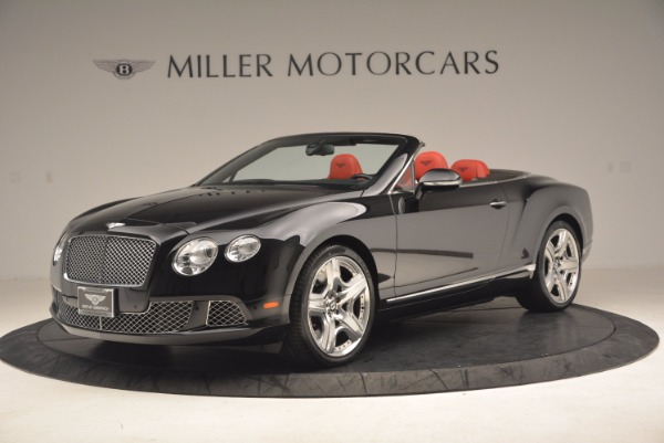 Used 2012 Bentley Continental GT W12 Convertible for sale Sold at Bugatti of Greenwich in Greenwich CT 06830 2