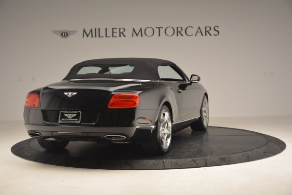 Used 2012 Bentley Continental GT W12 Convertible for sale Sold at Bugatti of Greenwich in Greenwich CT 06830 20