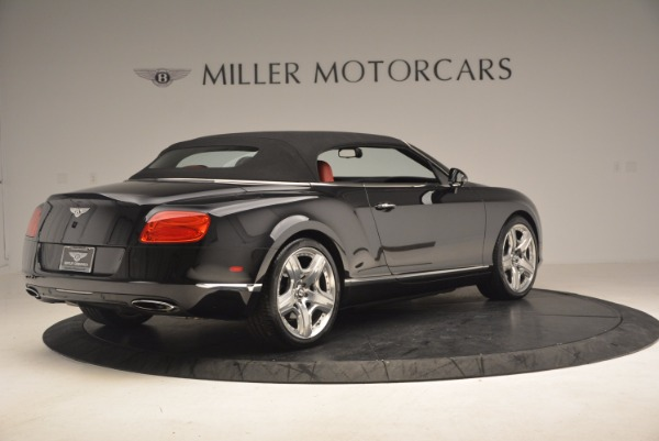 Used 2012 Bentley Continental GT W12 Convertible for sale Sold at Bugatti of Greenwich in Greenwich CT 06830 21