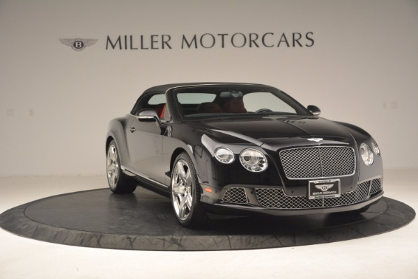 Used 2012 Bentley Continental GT W12 Convertible for sale Sold at Bugatti of Greenwich in Greenwich CT 06830 24