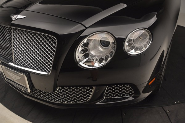 Used 2012 Bentley Continental GT W12 Convertible for sale Sold at Bugatti of Greenwich in Greenwich CT 06830 27