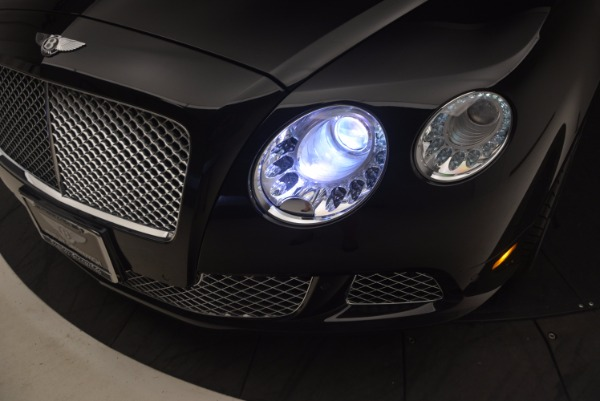Used 2012 Bentley Continental GT W12 Convertible for sale Sold at Bugatti of Greenwich in Greenwich CT 06830 28