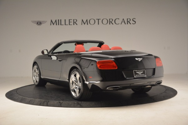 Used 2012 Bentley Continental GT W12 Convertible for sale Sold at Bugatti of Greenwich in Greenwich CT 06830 5