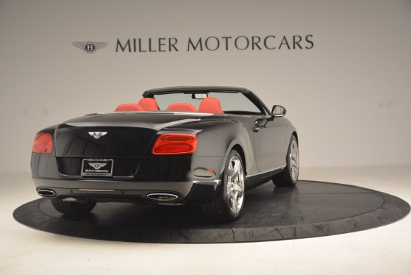 Used 2012 Bentley Continental GT W12 Convertible for sale Sold at Bugatti of Greenwich in Greenwich CT 06830 7