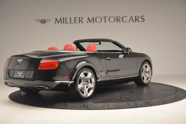 Used 2012 Bentley Continental GT W12 Convertible for sale Sold at Bugatti of Greenwich in Greenwich CT 06830 8