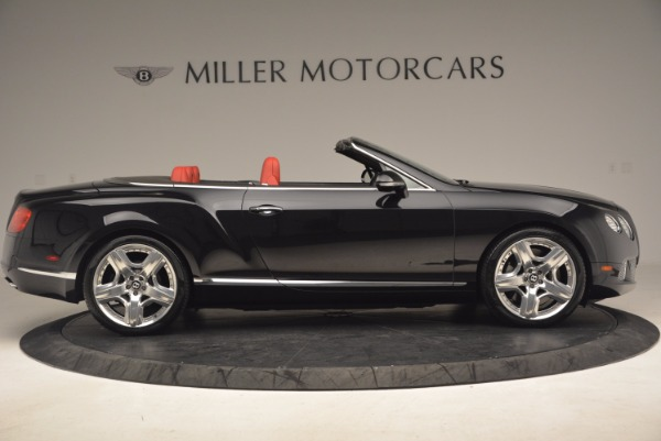Used 2012 Bentley Continental GT W12 Convertible for sale Sold at Bugatti of Greenwich in Greenwich CT 06830 9