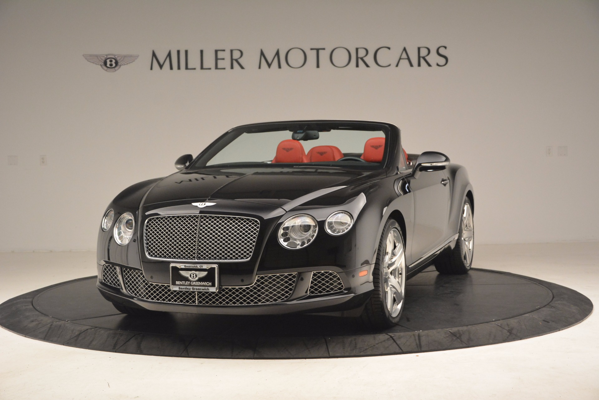 Used 2012 Bentley Continental GT W12 Convertible for sale Sold at Bugatti of Greenwich in Greenwich CT 06830 1