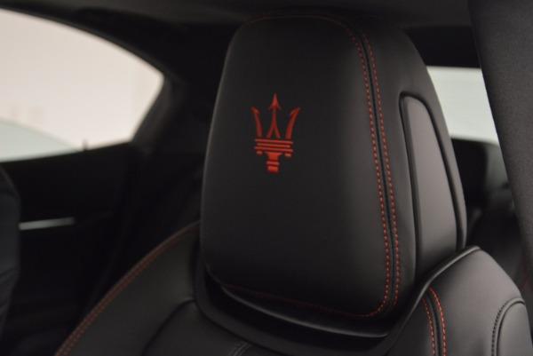 New 2017 Maserati Ghibli SQ4 for sale Sold at Bugatti of Greenwich in Greenwich CT 06830 19