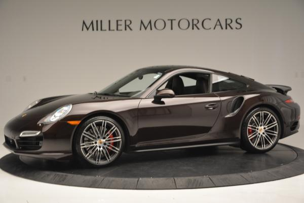 Used 2014 Porsche 911 Turbo for sale Sold at Bugatti of Greenwich in Greenwich CT 06830 3