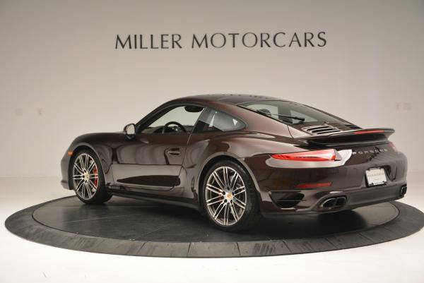 Used 2014 Porsche 911 Turbo for sale Sold at Bugatti of Greenwich in Greenwich CT 06830 5