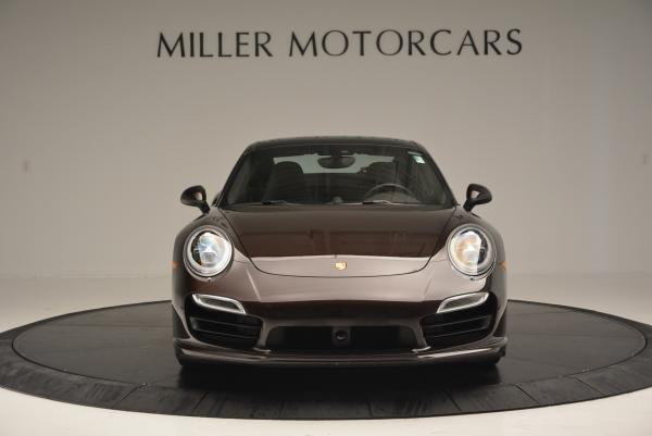 Used 2014 Porsche 911 Turbo for sale Sold at Bugatti of Greenwich in Greenwich CT 06830 8