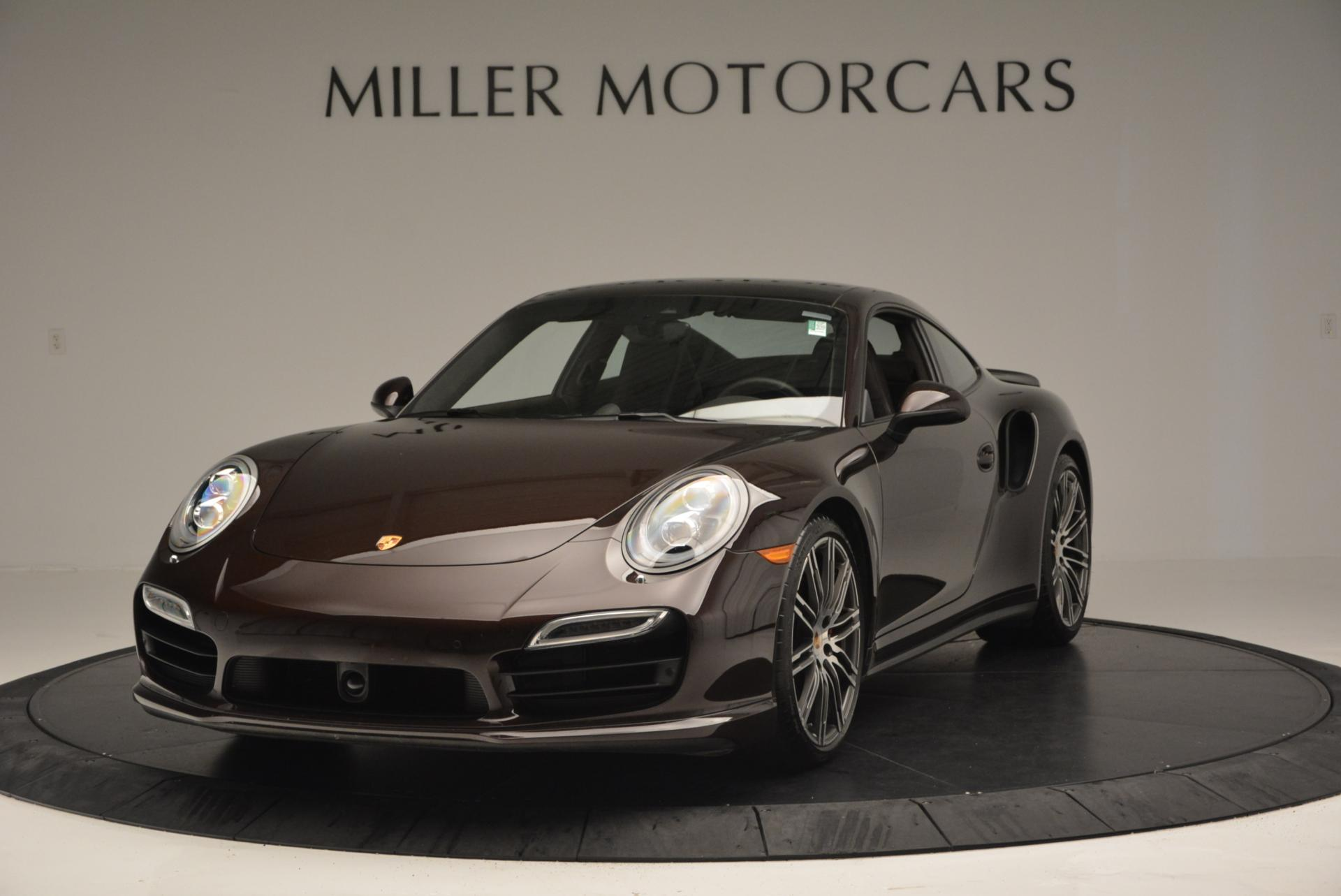 Used 2014 Porsche 911 Turbo for sale Sold at Bugatti of Greenwich in Greenwich CT 06830 1