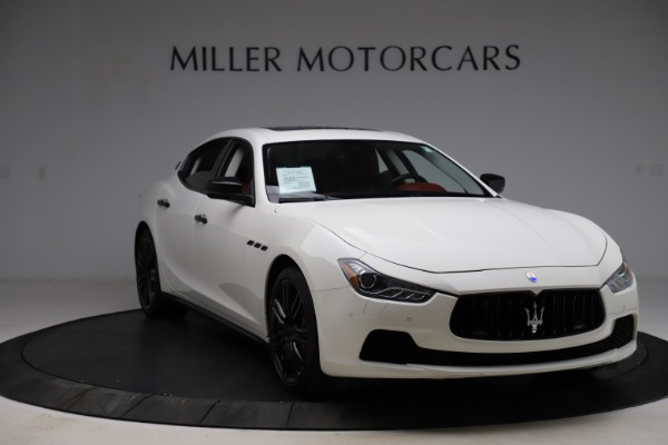 Used 2017 Maserati Ghibli S Q4 for sale Sold at Bugatti of Greenwich in Greenwich CT 06830 11