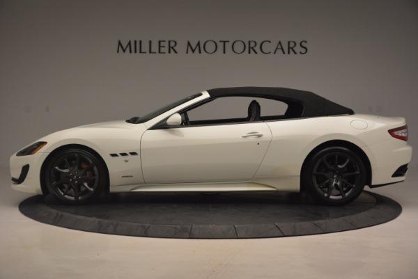 Used 2014 Maserati GranTurismo Sport for sale Sold at Bugatti of Greenwich in Greenwich CT 06830 28